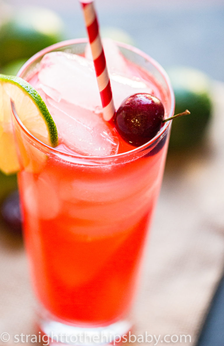 Cherry-Lime Rickey - Straight to the Hips, Baby